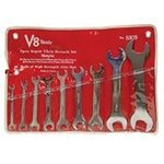 ES#2950645 - VHT8109 - 9 pc Metric Super Thin Wrench Set  - This 18 size extra thin wrench set can be a life saver on some applications - V8 Hand Tools - Audi BMW Volkswagen Mercedes Benz MINI Porsche