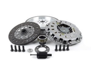 ES#3108287 - 520-180-240KT - JB Racing Lightweight Aluminum Flywheel & Clutch Kit - Includes a JB Racing aluminum single-mass flywheel and a new OE clutch! - Assembled By ECS - BMW