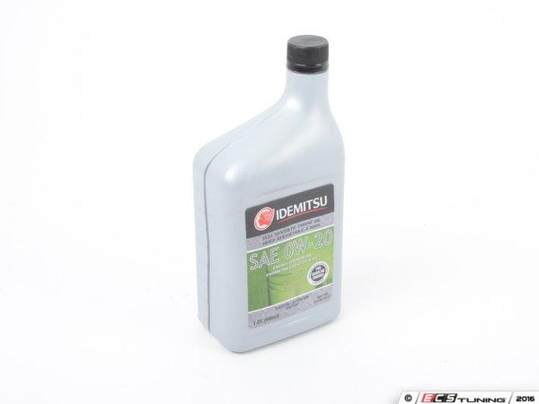 Idemitsu 20102042b Motor Oil 0w 20 Gf 5 1 Quart