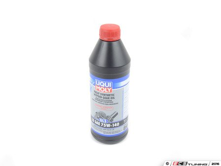 ES#3187920 - lm20042 - Fully Synthetic limited slip Differential fluid 75W140 - 1 Liter  - For use in limited slip differentials, features a friction modifier for more efficient, quieter performance in LSD clutches - Liqui-Moly - BMW