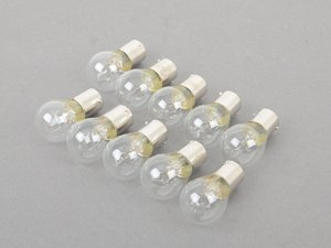 ES#2602685 - 90063112790 - Clear Bulb - Pack Of 10 - Often used for turn signals or brake lights - Jahn - Porsche