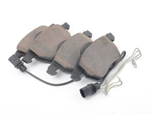 ES#3193050 - 4B0698151NHPC - Front Premium Ceramic Brake Pad Set - Restore the stopping power in your vehicle - Hudson - Audi Volkswagen