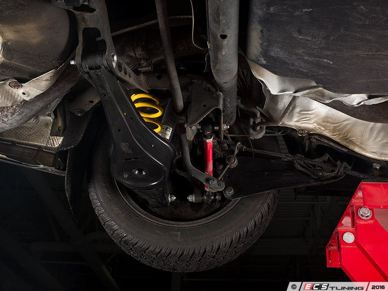 ecs news  ecs rear control arms  poly bushings  vw