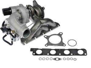 ES#3189522 - 667-223 - Turbocharger And Complete Gasket Kit - Includes new turbo and necessary gaskets - Dorman - Audi Volkswagen