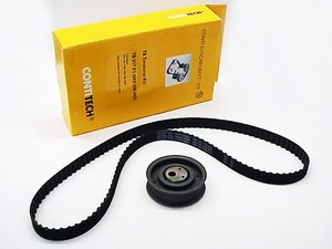 ES#1466 - TB017K1 - ECS Tuning Timing Belt Kit - Standard - Belt & Tensioner roller, made by Contitech - Continental - Volkswagen