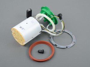 ES#3194765 - 8E0919051CQKT - Low Pressure In-Tank Fuel Pump Kit - Includes In-tank Fuel Pump, seal ring, the retaining ring, and Quick Coupling Cap for a proper replacement - Assembled By ECS - Audi