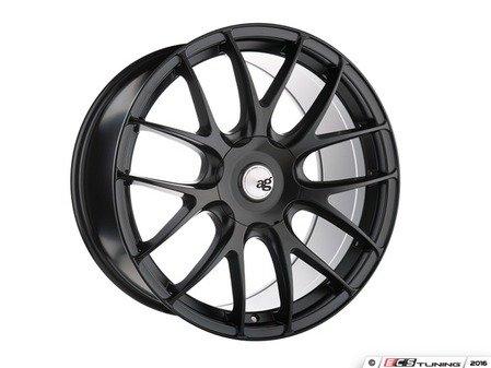 """ES#3195795 - M410-FB199540KT - 19"""" M410 - Set Of Four  - 19""""x9.5"""" ET40 5x112 - Matte Black - Avant Garde - Volkswagen"""