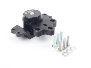 ES#3175178 - 30306072 - BSH Transmission Mount - Black anodized billet transmission mount with Street Sport bushings - BSH Speed Shop - Audi Volkswagen
