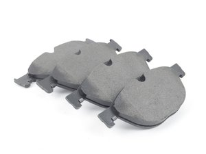 ES#3188340 - 34116793021 - Front Brake Pad Set - Replacement pads from an original equipment supplier - Textar - BMW