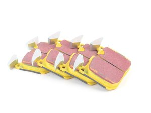 ES#2620628 - DP42130R - Front EBC YellowStuff Performance Brake Pad Set - A race quality pad that can be used at the track and back home again. - EBC - BMW