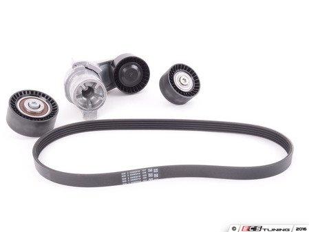 ES#3184305 - 11287628659KT - Accessory Belt Service Kit - Includes belt, tensioner and idler pulleys - Assembled By ECS - BMW