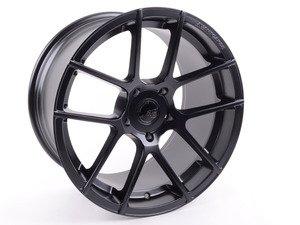 """ES#3135603 - M510-FB530191152 - 19"""" Ruger Split - Priced Each - 19x11 ET52 5x130 CB71.6 - Matte Black - Avant Garde - Porsche"""