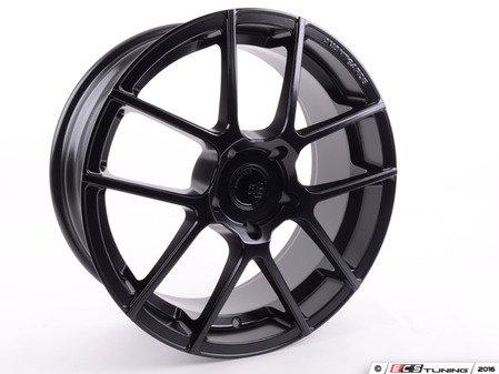 "ES#3135604 - M510-FB530198545 - 19"" Ruger Split - Priced Each - 19x8.5 ET45 5x130 CB71.6 - Matte Black - Avant Garde - Audi Volkswagen Porsche"