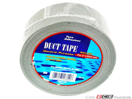 """ES#11601 - 700184 - Duct Tape-60 Yard Roll - Standard/General purpose grade 2"""" wide & 60 yards of tape - Tyco -"""