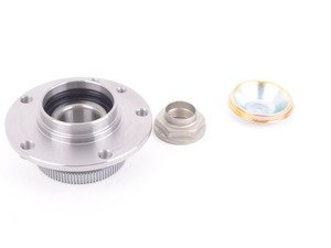 ES#3089711 - 31211131298 - Front wheel bearing kit - priced each  - Includes front bearing, nut and dust cover - Optimal - BMW
