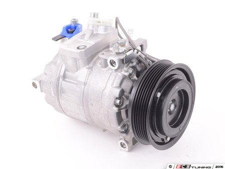 ES#2550579 - 99612601152 - Air Conditioning Compressor - Remanufactured Denso A/C compressor with clutch - Denso - Porsche