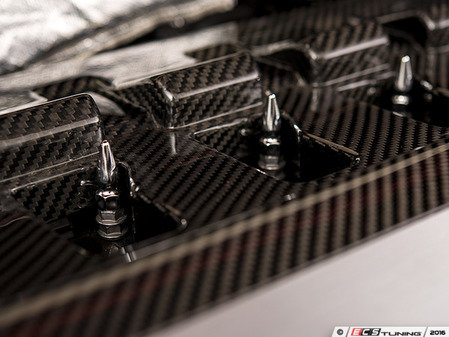 ES#3194183 - 022237ECS02KT - Engine Cover Hardware Upgrade Set - Spiked Polished Nuts - Set of 4 - Dress up your ignition coil hardware with this kit - ECS - Audi Volkswagen