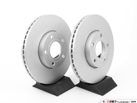 ES#2855169 - 8e0615301ccKT - Front Brake Rotors - Pair (282.5x25) - Restore the stopping power in your vehicle - ATE - Volkswagen
