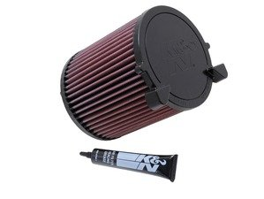 ES#3165815 - E-2014 - Performance Air Filter - Lifetime high-flow air filter that's a direct replacement - K&N - Volkswagen