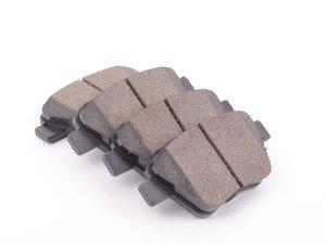 ES#3191624 - 5K0698451HPC - Rear Premium Ceramic Brake Pad Set - Restore the stopping power in your vehicle - Hudson - Audi Volkswagen