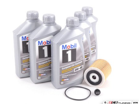 ES#3199977 - 11427512446kt6 - MINI Mobil 1 0w-40 Oil Service Kit Gen 1 - With ECS Magnetic Drain Plug - All in one service for your MINI - Assembled By ECS - MINI