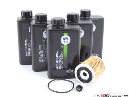 ES#3199979 - 11427512446kt8 - MINI Oil Service Kit Gen 1 - With ECS Magnetic Drain Plug - All in one service for your MINI - Assembled By ECS - MINI