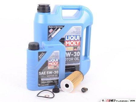 ES#3200156 - 11428570590KT17 - MINI Liqui Moly 5w-30 Oil Service Kit Gen 3 2.0L - With ECS Magnetic Drain Plug - All in one service for your MINI - Assembled By ECS - MINI