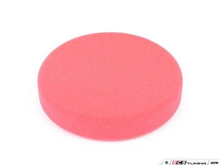 """ES#2626132 - 493100 - 160mm/6.3"""" Red Polishing Pad - Hard - For abrasive polishing of scratched and weather paintwork - SONAX - Audi BMW Volkswagen Mercedes Benz MINI Porsche"""