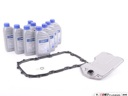 ES#2992457 - 09D325435kt1 - Automatic Transmission Service Kit - Includes a new filter and pan gasket for your six-speed automatic - Assembled By ECS - Audi