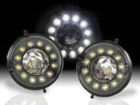 ES#3200098 - ADL-R56-V2-CB - DRL LED Halo Fog Lights V2 - Retrofit kit for upgrade to dotted Halo DRLs - Vinstar - MINI