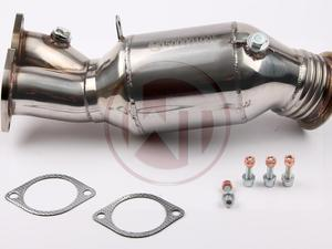 ES#3034379 - 500001005 - Wagner Downpipe With Sport Cat - 76mm - Unleash the power of your car by reducing the biggest restriction in your exhaust - Wagner Tuning - BMW
