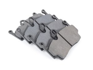 ES#2586316 - HB665G.577 - DTC-60 Racing Brake Pad Set - High-torque track pads with moderate initial bite - Hawk - Porsche