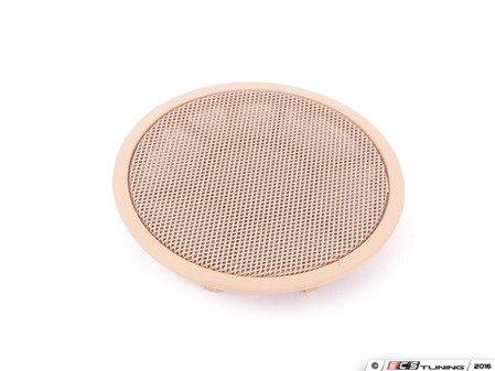 ES#98539 - 51416969393 - Beige Door Mid-Range Speaker Cover - Priced Each - Fits left and right side, front and rear locations. - Genuine BMW - BMW