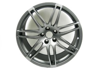 "ES#10282 - 8E0601025BE - RS4 19"" Alloy Wheel - Priced Each  - 19""x9"" 5x112 ET29 Titanium Finish - Center cap not included - Genuine Volkswagen Audi - Audi"