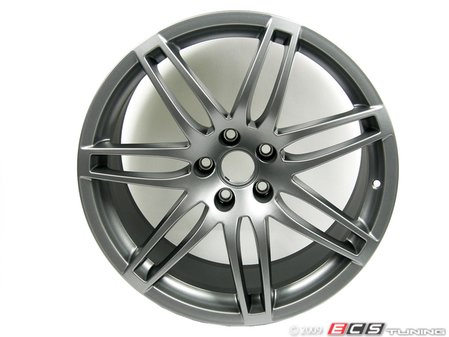 "ES#11764 - 8e0698025be - RS4 19"" Alloy Wheel - Set Of Four - 19""x9"" 5x112 ET29 Titanium Finish - Includes center caps - Genuine Volkswagen Audi - Audi"