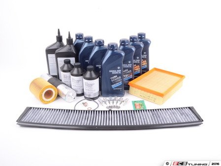 ES#2723948 - E46IN2ENEV2KT - Inspection II Service Kit - Includes all required parts to service your BMW - Genuine BMW - BMW