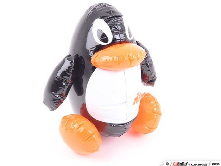 ES#2764380 - MMPROMOTOYPENG - Chilly the Penguin Inflatable Toy - Support your Mishimoto pride with this Penguin Mascot - Mishimoto - Audi BMW Volkswagen Mercedes Benz MINI