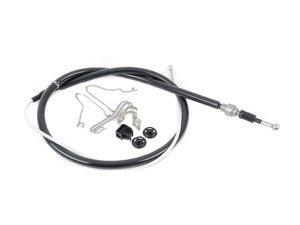 ES#3187706 -  1j0609721apKT - Parking Brake Cable - Pair - Addresses rusty, damaged cables or one that will not adjust - Genuine Volkswagen Audi - Volkswagen