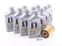 ES#2817553 - 0001803009KT4 - Engine Oil Service Kit - Everything you need to perform an engine oil service - Assembled By ECS - Mercedes Benz
