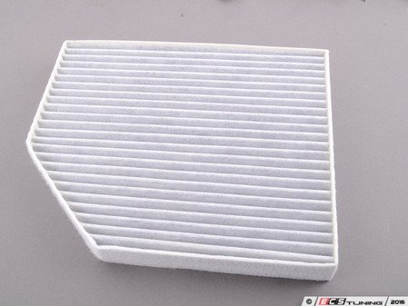 ES#3202693 - 8K0819439B - Charcoal Lined Cabin Filter / Fresh Air Filter - The activated charcoal filters odor from reaching the cabin - Corteco - Audi
