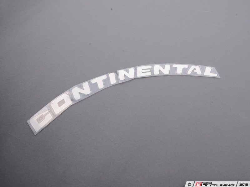 Tire Stickers CON Continental Tire Lettering Kit