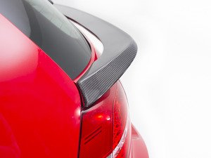 ES#3173629 - 020999ECS01A-01 - Rear Mid-Wing Hatch Spoiler - Carbon Fiber - Add unique and aggressive styling to your hot ride! - ECS - Volkswagen