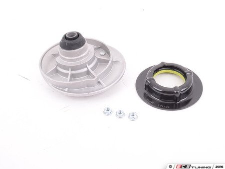 ES#3202831 - 31332229166 - Upper Strut Mount with Bearing - Right - Used to mount the strut to the body, bearing rides on the lower portion - Corteco - BMW