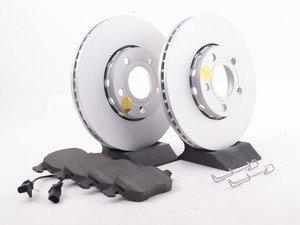 ES#3146796 - ESK528 - Euro-Stop Brake Kit - Front (288x25) - A quality braking kit to restore braking performance - Power Stop - Audi Volkswagen