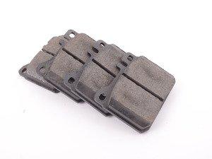 ES#2678217 - 0054204520 - Front Brake Pad Set - Does not include new brake pad wear sensors - Jurid - Mercedes Benz