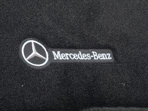 ES#1827784 - Q6680472 - Carpeted Floor Mat Set - Charcoal - Genuine Mercedes Benz - Mercedes Benz