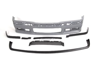 ES#2817040 - bm51009aKT - M3 Replica Bumper Kit - Non Integrated Lip - Update to a sportier look with an M3 bumper! - ECS - BMW
