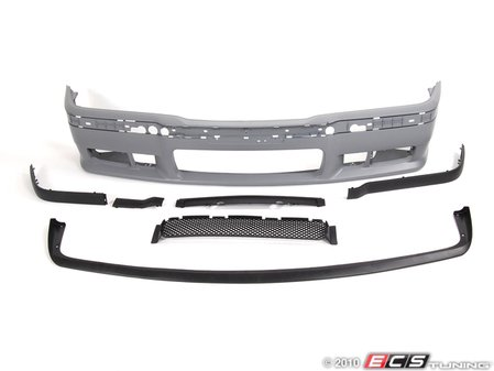 ES#2226039 - BM51009A - M3 Replica Bumper Kit - Non Integrated Lip - Update to a sportier look with an M3 bumper! - ECS -
