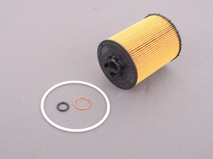 ES#257540 - 11427542021 - Oil Filter Kit - Includes all related gaskets - Hengst - BMW
