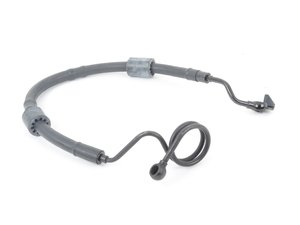 ES#3177556 - 8E1422893DJ - Power Steering Pressure Hose - Connects the power steering pump to the steering rack - Hudson - Audi